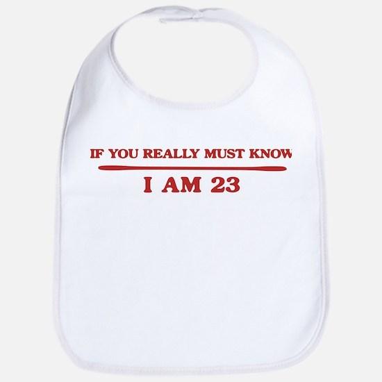 I am 23 Bib