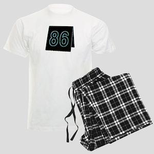 86 Restaurant Order Number - Men's Light Pajamas