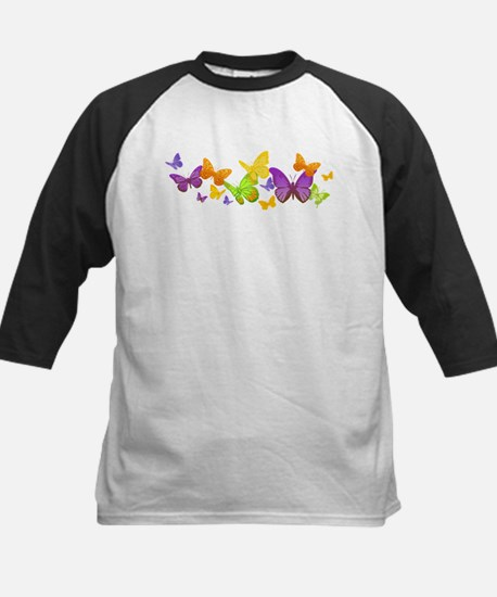 Cute Butterflies Baseball Jersey