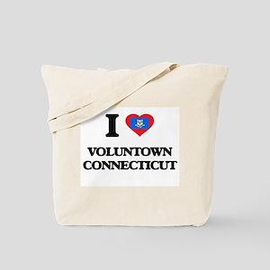 I love Voluntown Connecticut Tote Bag