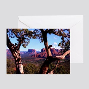 Redrock Vista Greeting Card