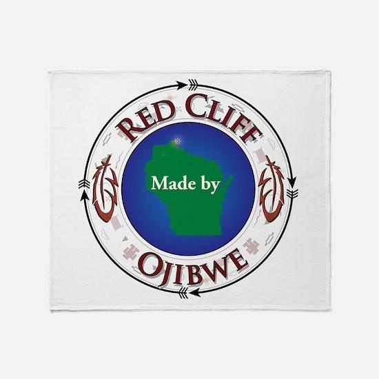 Red Cliff Ojibwe Throw Blanket