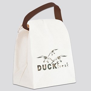 DUCK FREAK Canvas Lunch Bag