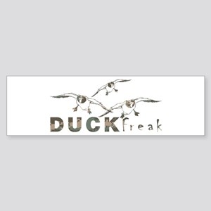 DUCK FREAK Bumper Sticker