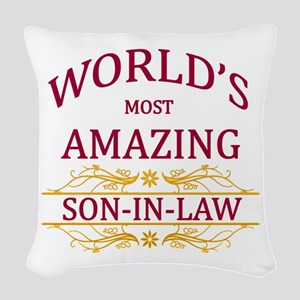 Son-In-Law Woven Throw Pillow