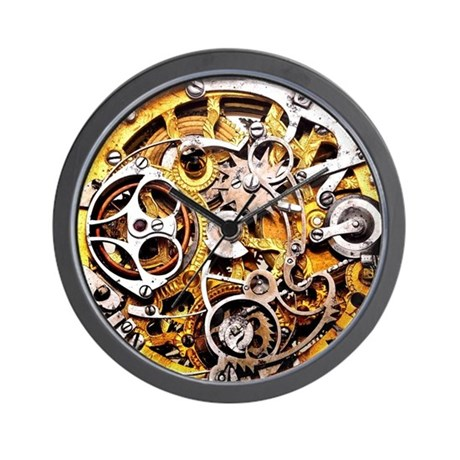 Steampunk Clocks Steampunk Wall Clocks Large Modern Kitchen