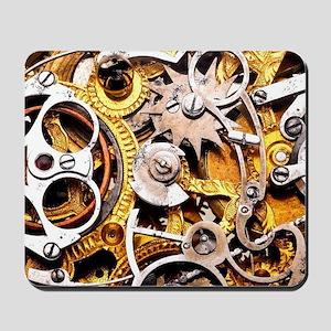 Steampunk Gears Mousepad