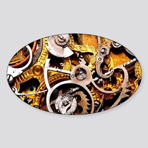 Steampunk Gear Sticker