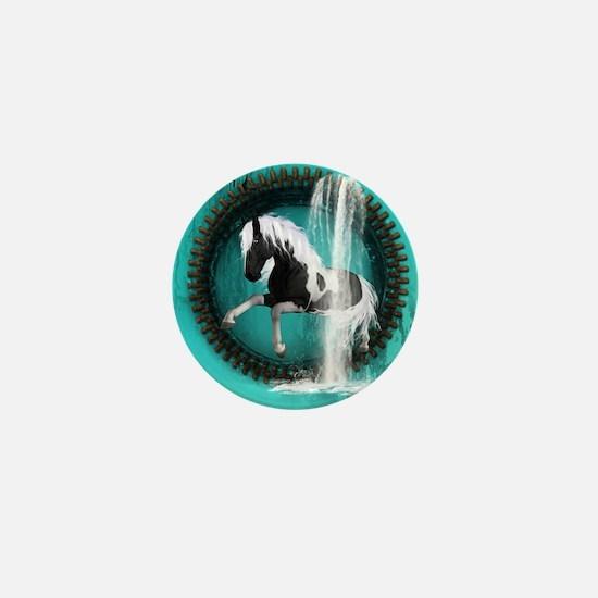 Awesome horse Mini Button