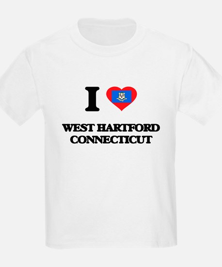 I love West Hartford Connecticut T-Shirt