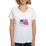 Geaux Hillary 2016 Women's V-Neck T-Shirt