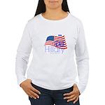Geaux Hillary 2016 Women's Long Sleeve T-Shirt