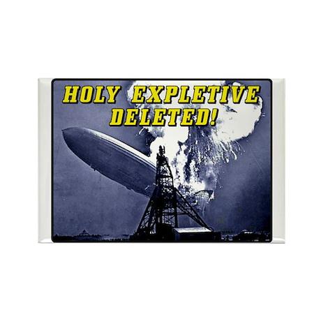 Holy Expletive Deleted! Rectangle Magnet