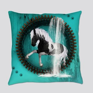 Awesome horse Everyday Pillow