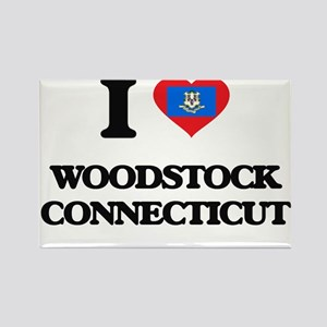 I love Woodstock Connecticut Magnets