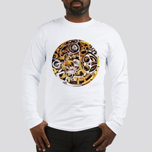 Steampunk Gears Long Sleeve T-Shirt