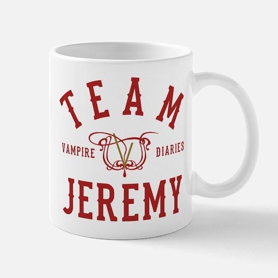 Team Jeremy Vampire Diaries Mugs