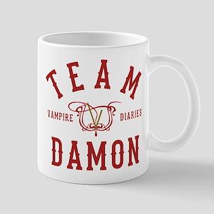 Team Damon Vampire Diaries Mugs