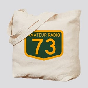 Amateur Radio 73 Tote Bag