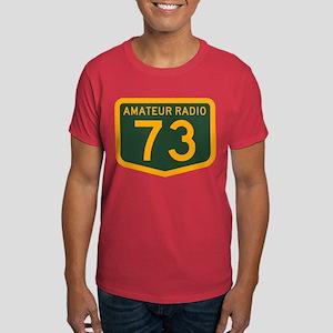 Amateur Radio 73 Dark T-Shirt