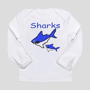 Sharks Long Sleeve Infant T-Shirt
