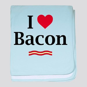 I Love Bacon... baby blanket