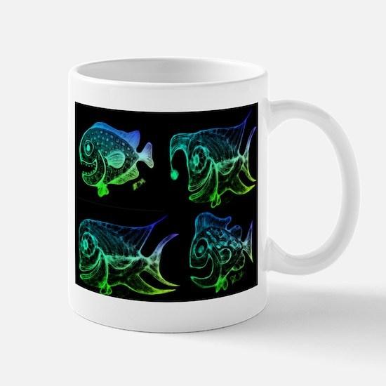 Retro Fish Combo. Fish Retro Tuna RCM W Mug