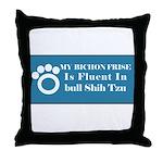 Bichon Throw Pillow