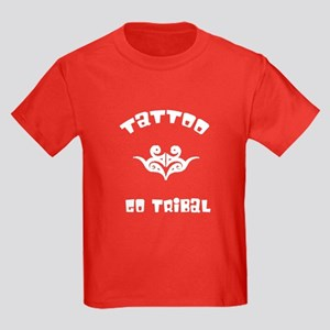 Tribal Tattoos Kids Dark T-Shirt