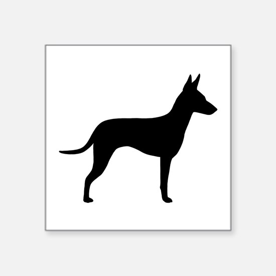 "Manchester Terrier Square Sticker 3"" x 3"""