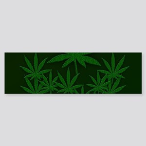 Marijuana / Weed Design Bumper Sticker
