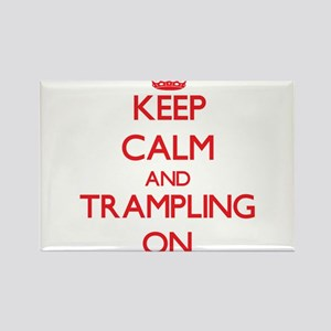 Keep Calm and Trampling ON Magnets