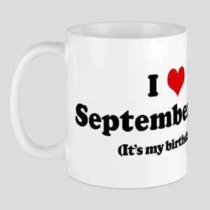 I Love September 9th (my birt Mug