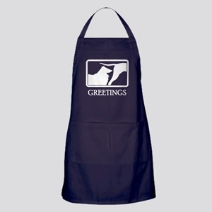 Rough Collie Apron (dark)