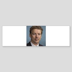 Rand Paul portrait Bumper Sticker