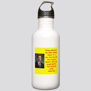 rand paul quotes Water Bottle