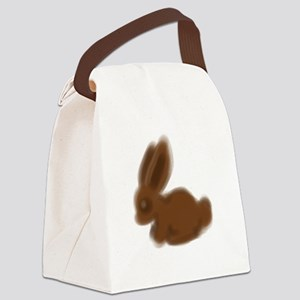 Chocolate BunBun Canvas Lunch Bag