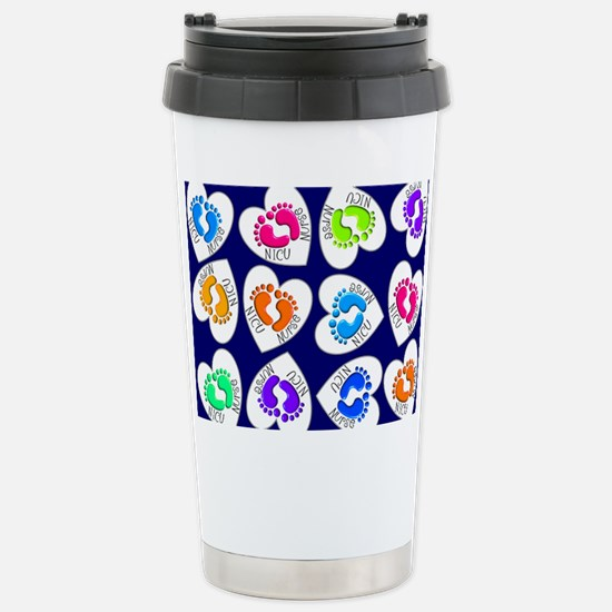 NICU Nurse Stainless Steel Travel Mug
