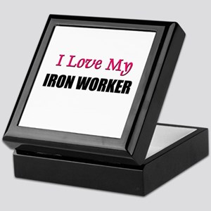 I Love My IRON WORKER Keepsake Box