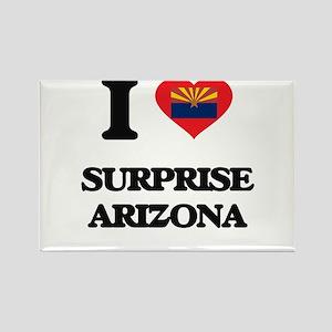 I love Surprise Arizona Magnets