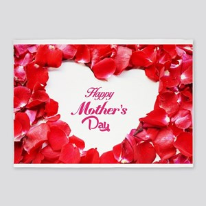 happy mothers day 5'x7'Area Rug