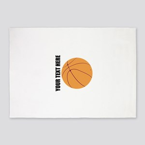 Basketball 5'x7'Area Rug
