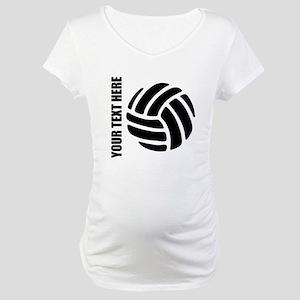 Volleyball Maternity T-Shirt