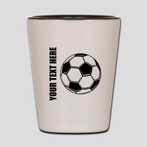 Soccer Shot Glass