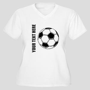 Soccer Plus Size T-Shirt