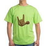 ILY Mom and Baby Green T-Shirt