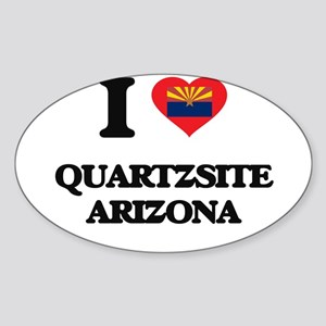 I love Quartzsite Arizona Sticker
