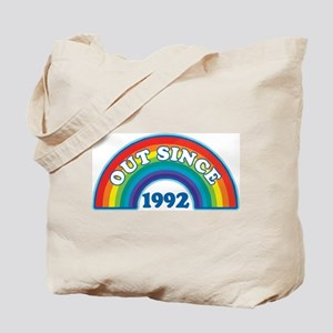 Out Since 1992 Tote Bag