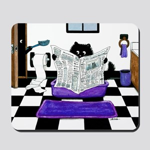 Peek & Boo Cats Potty Patrol by Bihr Mousepad