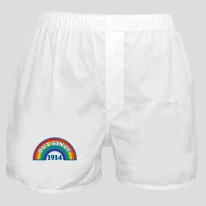 Out Since 1914 Boxer Shorts